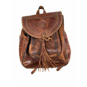 Patricia Nash Jovanna Distressed Leather Backpack